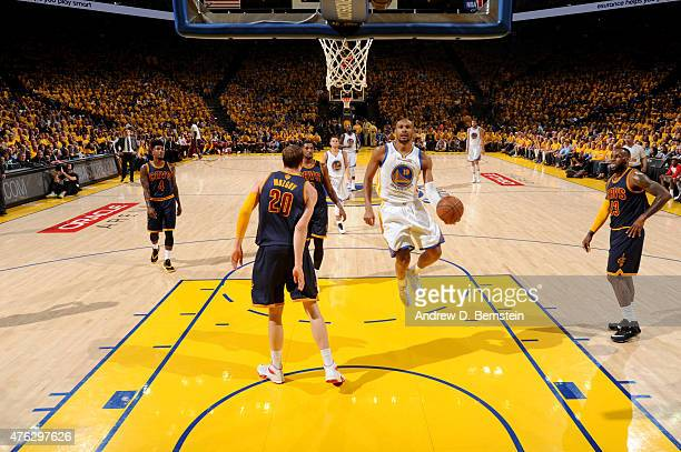 Leandro Barbosa of the Golden State Warriors shoots during Game Two of the 2015 NBA Finals on June 7 2015 at Oracle Arena in Oakland California NOTE...