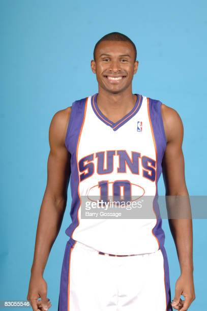 Leandro Barbosa of the Phoenix Suns poses for a portrait during NBA Media Day on September 29 at US Airways Center in Phoenix Arizona NOTE TO USER...