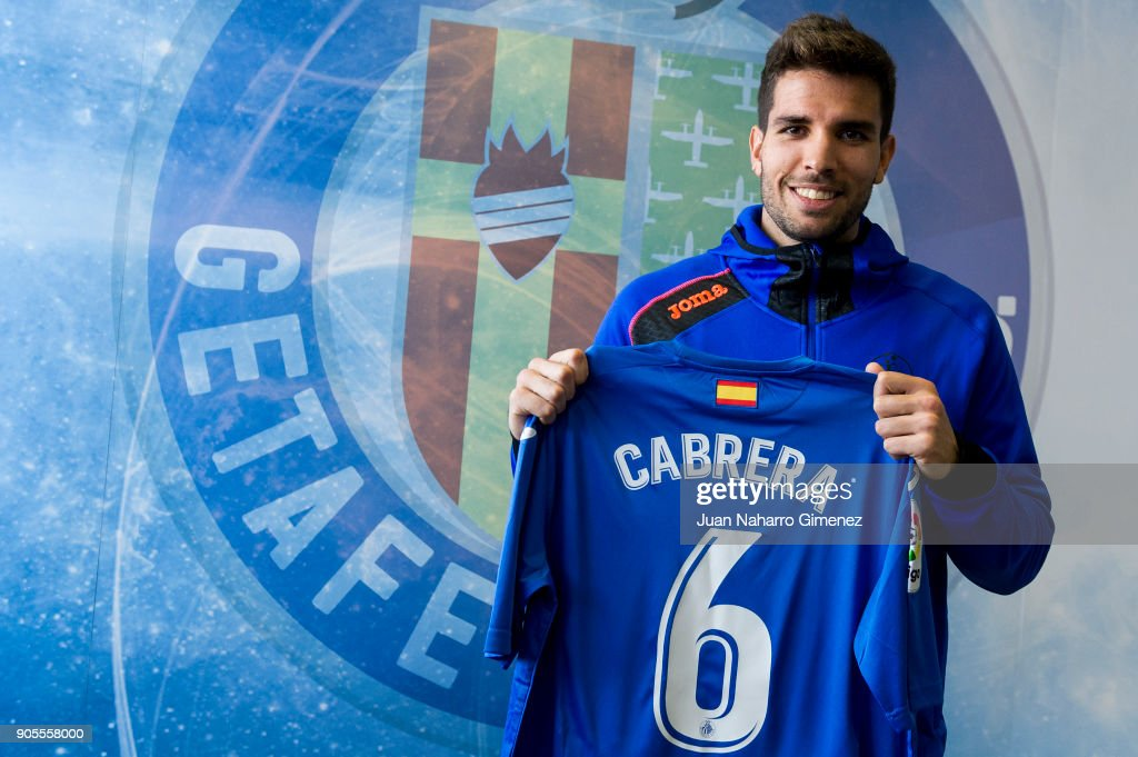 Cabrera Is Presented As New Getafe Player