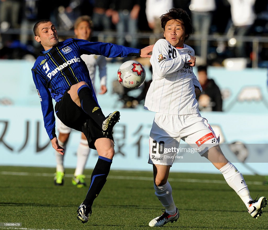 Gamba Osaka v Kashiwa Reysol - 92nd Emperor's Cup Final : News Photo