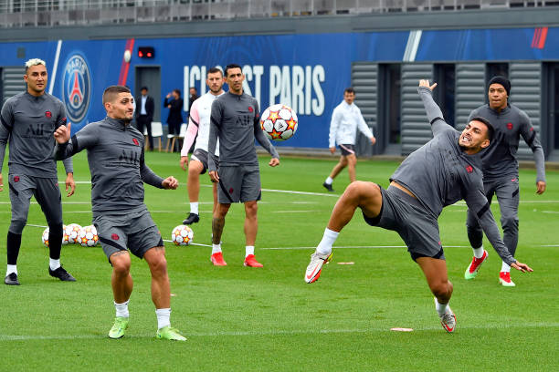 FRA: Paris Saint-Germain Training Session