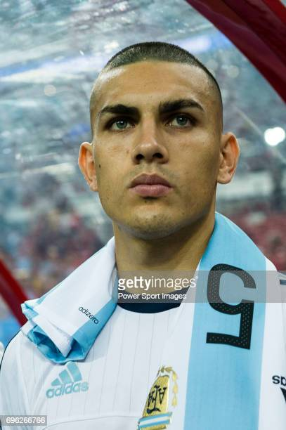 Leandro Paredes of Argentina during the International Test match between Argentina and Singapore at National Stadium on June 13 2017 in Singapore