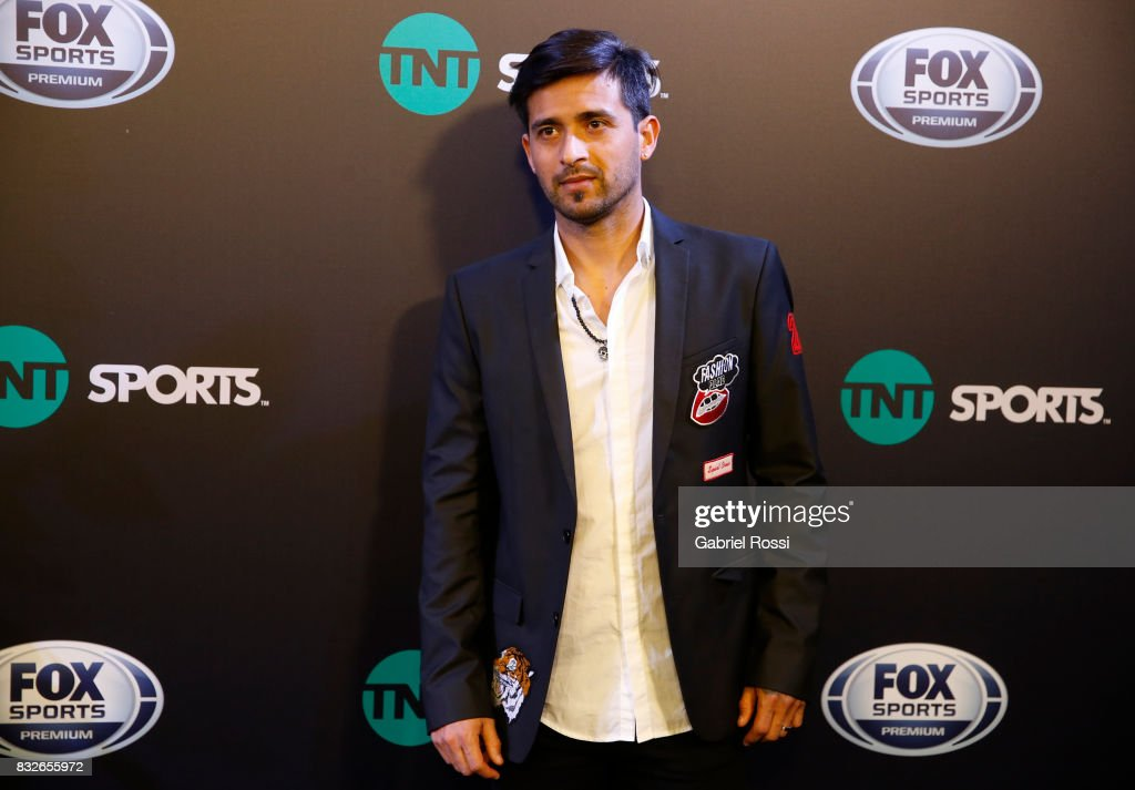 Leandro Pisculichi of Argentinos Juniors during AFA's Superliga Official Launch at Hilton Hotel on August 15, 2017 in Buenos Aires, Argentina.