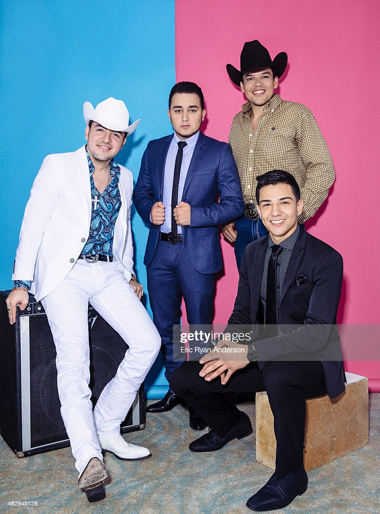 Leandro Rios, Kevin Ortiz, Luis Coronel, and Jorge Valenzuela pose for a portraits at the 2015 Billboard Latin Music Conference for Billboard Magazine on April 29, 2015 in Miami, Florida.