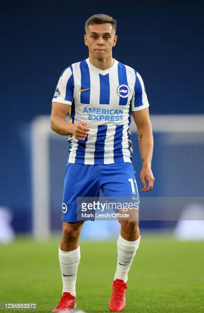 Leandro Trossard of Brighton during the Pre Season Friendly Match between Brighton & Hove Albion and Getafe at American Express Community Stadium on...