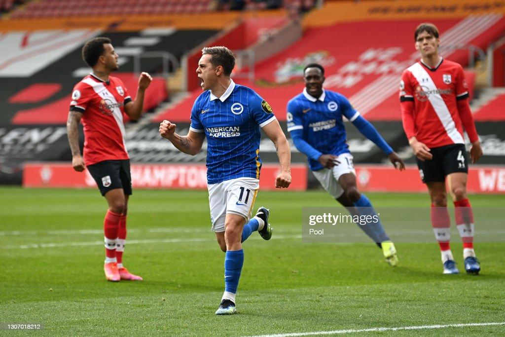 Southampton v Brighton & Hove Albion - Premier League : ニュース写真