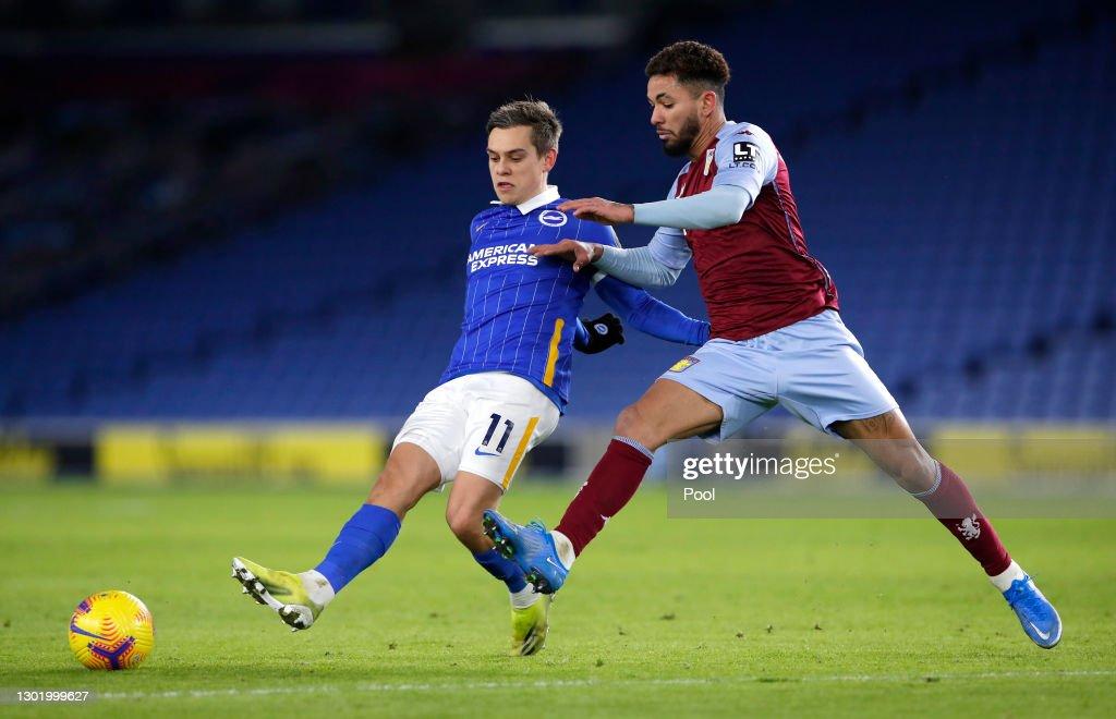 Brighton & Hove Albion v Aston Villa - Premier League : Nieuwsfoto's
