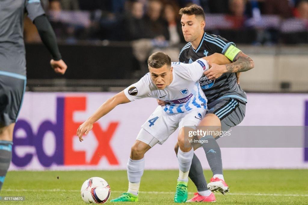 UEFA Europa League'KRC Genk v Celta de Vigo' : Photo d'actualité