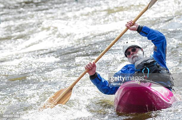 leaning on a wave - swift river stock photos and pictures
