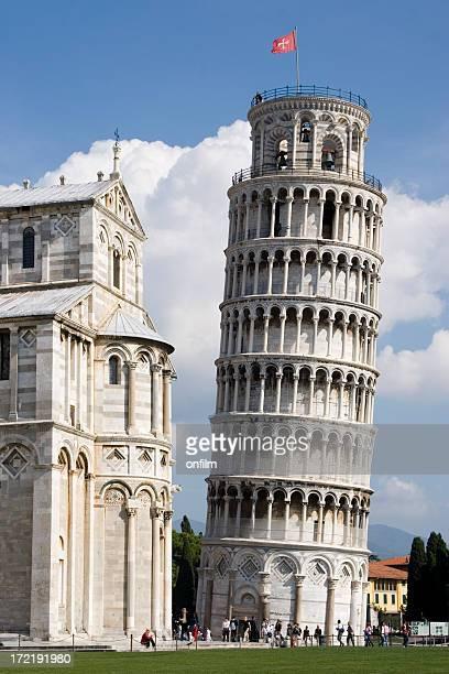 torre pendente di pisa, italia - pisa foto e immagini stock