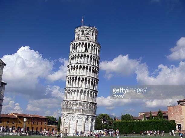 torre inclinada di pisa - pisa foto e immagini stock