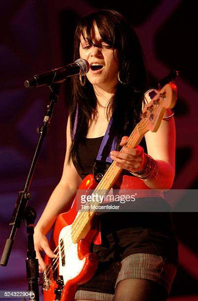 Leann Banks of The Von Bondies performs at The Bat Bar as part of SXSW 2009 on March 19 2009 in Austin Texas Photo by Tim Mosenfelder / Tim...