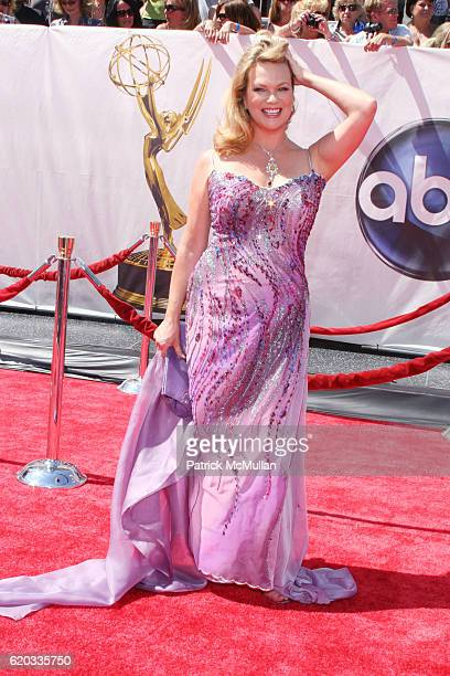 Leann Hunley attends 2008 Daytime Emmy Awards at Kodak Theatre on June 20 2008 in Hollywood CA