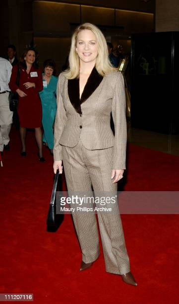 Leann Hunley during Junior Blind and The American Foundation for The Blind Present an International Symposium Reception at Beverly Hilton Hotel in...