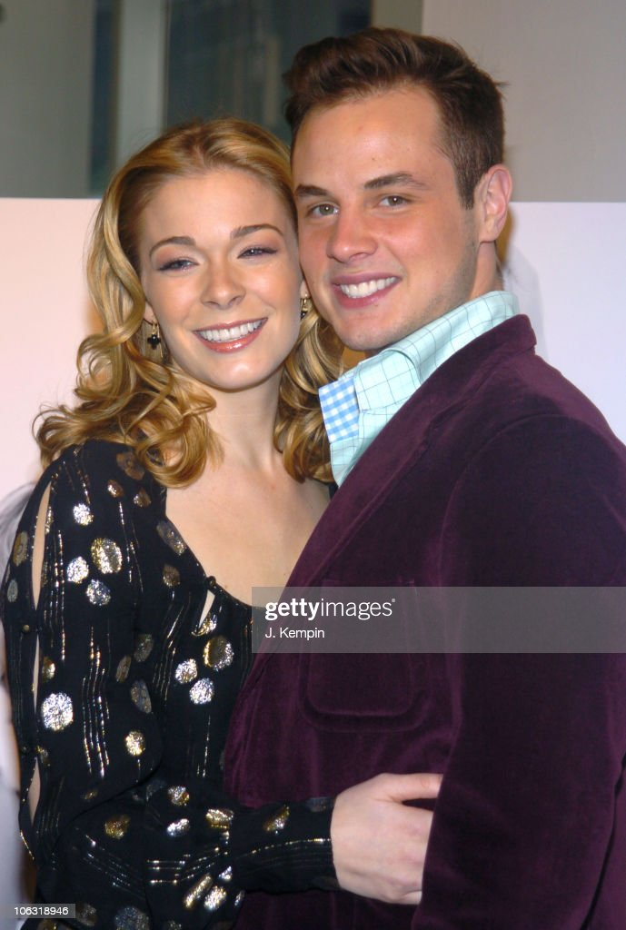 LeAnn Rimes And Dean Sheremet During JCPenney Introduces As The New Face Of