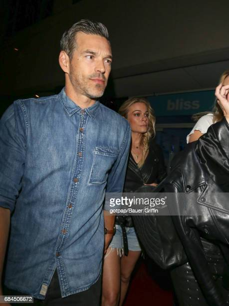 LeAnn Rimes and Eddie Cibrian are seen on May 17 2017 in Los Angeles California