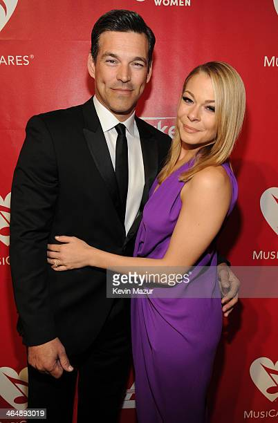 LeAnn Rimes and Eddie Cibrian attends 2014 MusiCares Person Of The Year Honoring Carole King at Los Angeles Convention Center on January 24, 2014 in...