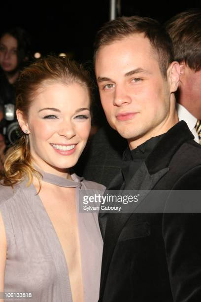 LeAnn Rimes and husband Dean during 'New Yorkers For Children' Annual Fall Gala Dinner arrivals at Ciprianis 42nd Street in New York New York United...