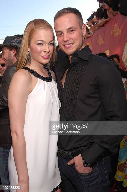 LeAnn Rimes and husband Dean Sheremet during 2007 CMT Music Awards Red Carpet at The Curb Event Center at Belmont University in Nashville Tennessee...