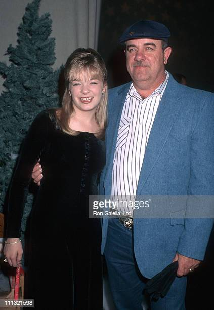 LeAnn Rimes and Wilbur Rimes during 65th Annual Hollywood Christmas Parade in Hollywood California United States