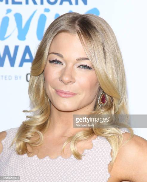LeAnn Rimes arrives at the 2011 American Giving Awards held at Dorothy Chandler Pavilion on December 9 2011 in Los Angeles California