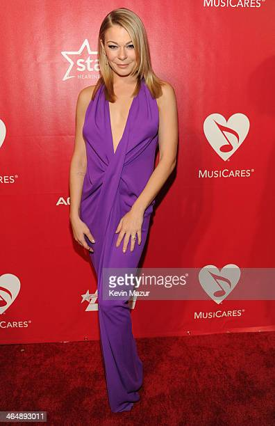 LeAnn Rimes attends 2014 MusiCares Person Of The Year Honoring Carole King at Los Angeles Convention Center on January 24, 2014 in Los Angeles,...