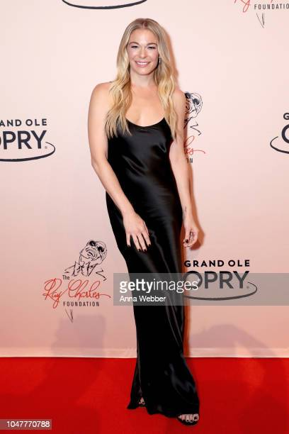 LeAnn Rimes attends An Opry Salute to Ray Charles at The Grand Ole Opry on October 8 2018 in Nashville Tennessee