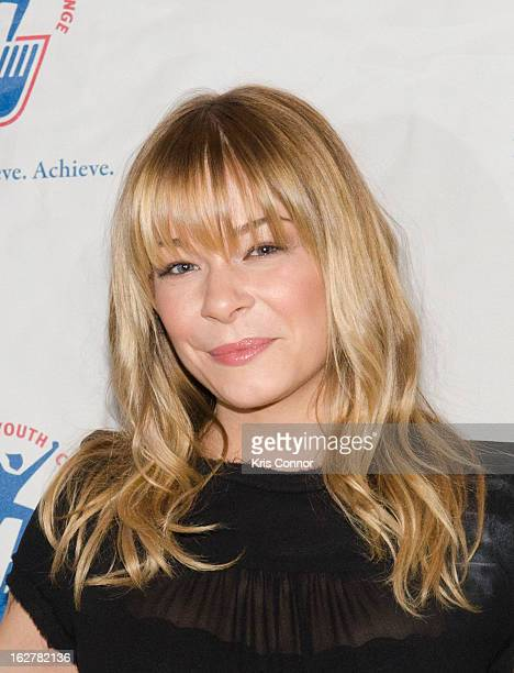 LeAnn Rimes attends the 2013 ChalleNGe Champions Gala at JW Marriott Hotel on February 26 2013 in Washington DC
