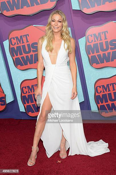 LeAnn Rimes attends the 2014 CMT Music awards at the Bridgestone Arena on June 4 2014 in Nashville Tennessee