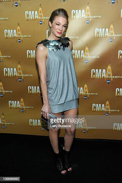 LeAnn Rimes attends the 44th Annual CMA Awards at the Bridgestone Arena on November 10 2010 in Nashville Tennessee