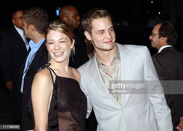 LeAnn Rimes Dean Sheremet during Four Feathers Premiere at Mann Bruin in Los Angeles California United States