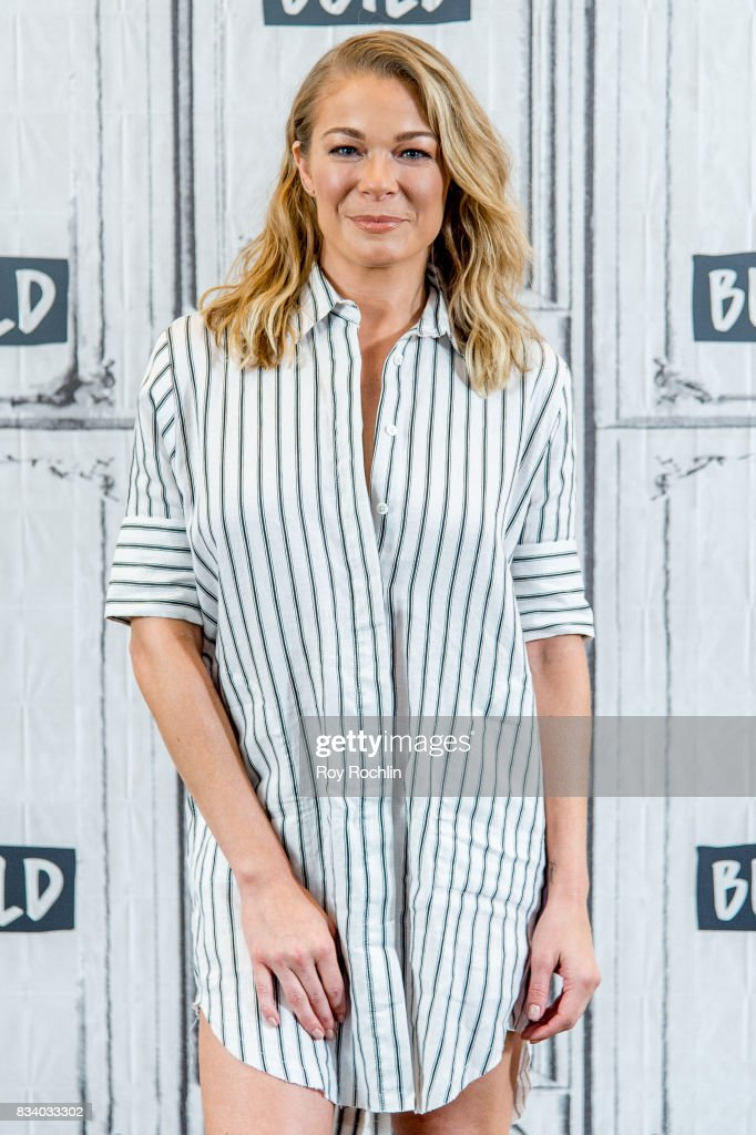 LeAnn Rimes discusses 'Logan Lucky' with the Build Series at Build Studio on August 17, 2017 in New York City.
