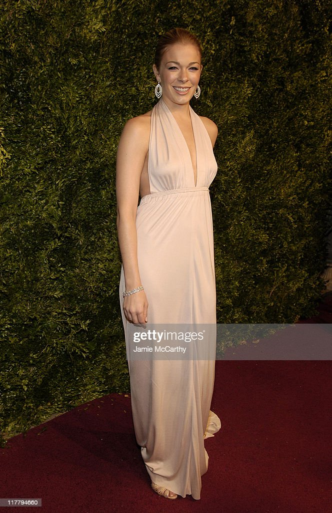 LeAnn Rimes during CFDA 7th on Sale Kick-Off - Red Carpet and Inside at Sky Light Studios in New York City, New York, United States.