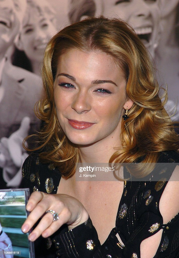 LeAnn Rimes During JCPenney Introduces As The New Face Of Wedding Registry At