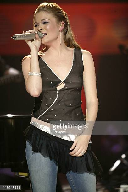 LeAnn Rimes during LeAnn Rimes Celebrates the Release of Her Latest Album at Opryland Studio A in Nashville Tennessee United States
