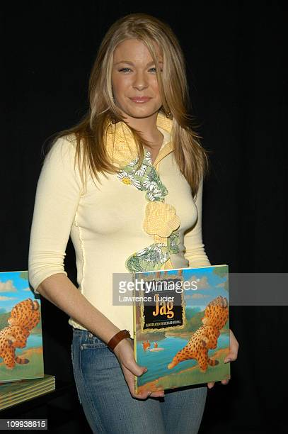 LeAnn Rimes during LeAnn Rimes Signs her New Book Jag at Barnes Noble in New York City New York United States