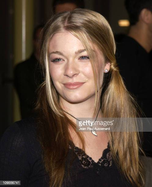 LeAnn Rimes during 'Poolhall Junkies' Premiere In Memory of Rod Steiger to Benefit The Motion Picture Television Fund at ArcLight Theatre in...
