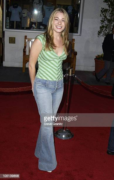LeAnn Rimes during The World Premiere of Bruce Almighty at Universal Amphitheatre in Universal City California United States
