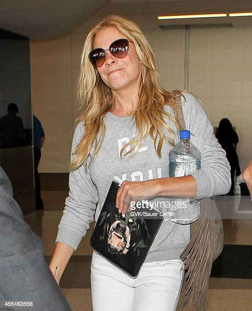 LeAnn Rimes is seen at LAX on September 14 2014 in Los Angeles California