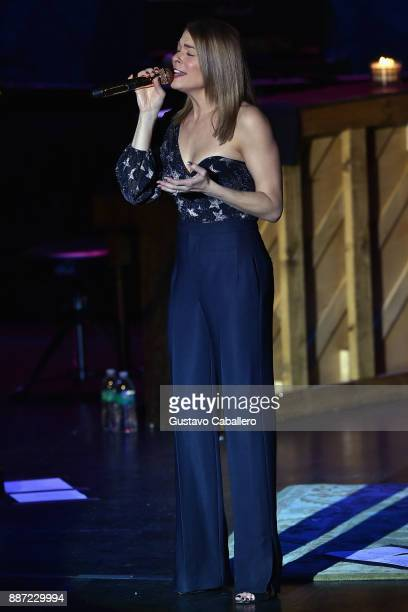LeAnn Rimes kicks off 'Today Is Christmas' tour 2017 at Parker Playhouse on December 2 2017 in Fort Lauderdale Florida