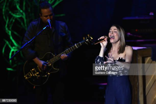 LeAnn Rimes kicks off Today Is Christmas tour 2017 at Parker Playhouse on December 2 2017 in Fort Lauderdale Florida