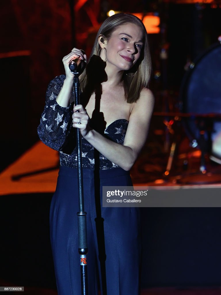 LeAnn Rimes kicks off 'Today Is Christmas' tour 2017 at Parker Playhouse on December 2, 2017 in Fort Lauderdale, Florida.
