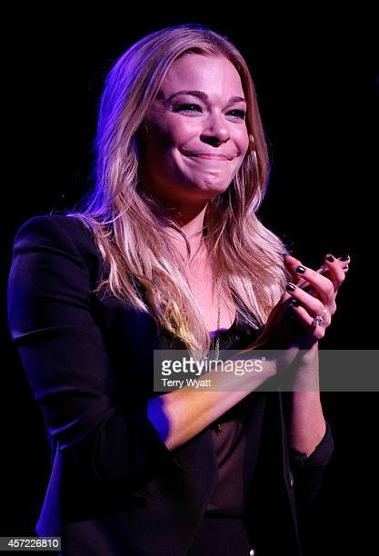 LeAnn Rimes performs at Inspire Nashville 2 A Celebration for Possibilities Inc at Marathon Music Works on October 14 2014 in Nashville Tennessee