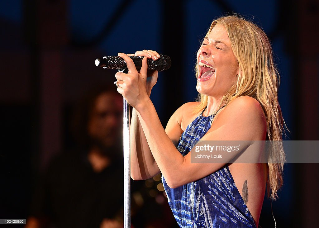LeAnn Rimes performs at Mardi Gras Casino on July 19, 2014 in Hallandale, Florida.