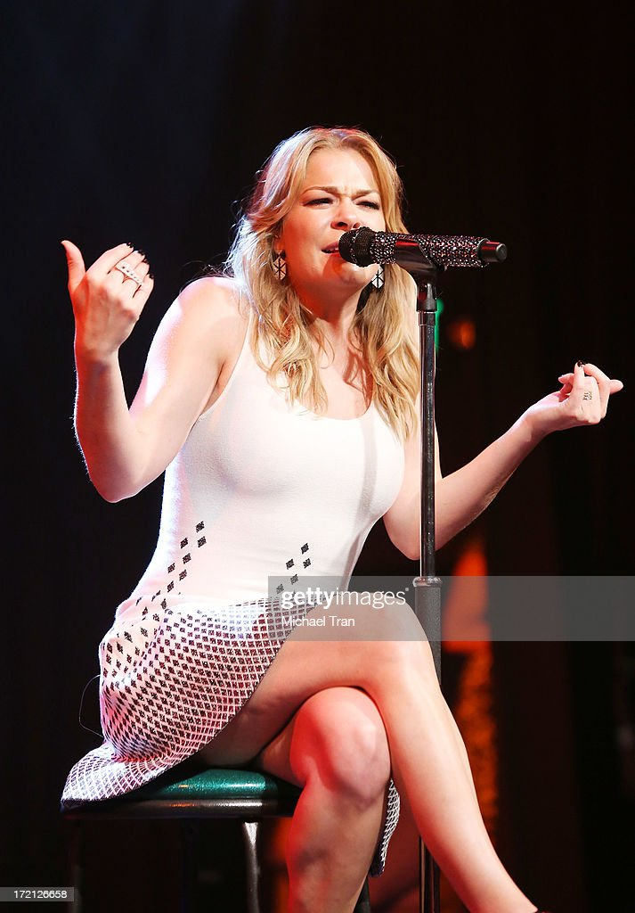 LeAnn Rimes performs at the Friend Movement Campaign benefit concert held at El Rey Theatre on July 1, 2013 in Los Angeles, California.