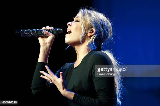 LeAnn Rimes performs during Marty Stuart's 13th Annual Late Night Jam at the Ryman Auditorium on June 4, 2014 in Nashville, Tennessee.
