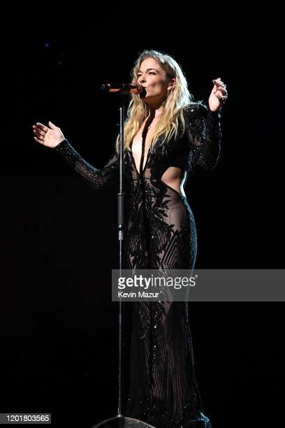 LeAnn Rimes performs onstage during MusiCares Person of the Year honoring Aerosmith at West Hall at Los Angeles Convention Center on January 24 2020...