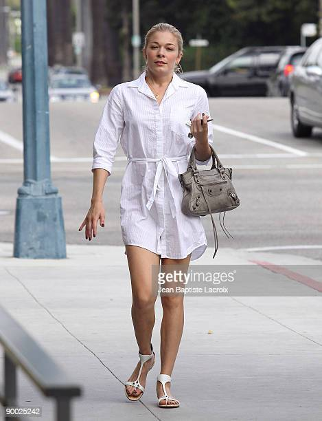 LeAnn Rimes sighting on August 22 2009 in Los Angeles California