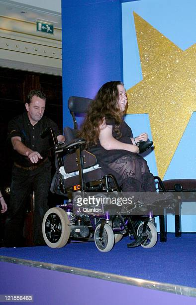 Leanne Beetham during Champion Children of the Year 2004 at The Millennium Club in London Great Britain
