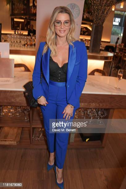 Leanne Brown attends a lunch hosted by Amanda Staveley for 'Wellbeing Of Women', Britain's foremost female health charity investing in pioneering...